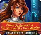 Alicia Quatermain 4: Da Vinci and the Time Machine Collector's Edition spel
