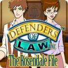Defenders of Law: The Rosendale File spel