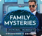 Family Mysteries: Criminal Mindset Collector's Edition spel