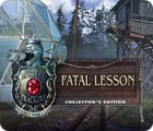 Mystery Trackers: Fatal Lesson Collector's Edition spel